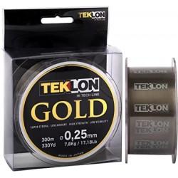 BOBINA TEKLON GOLD 300M 0,45MM